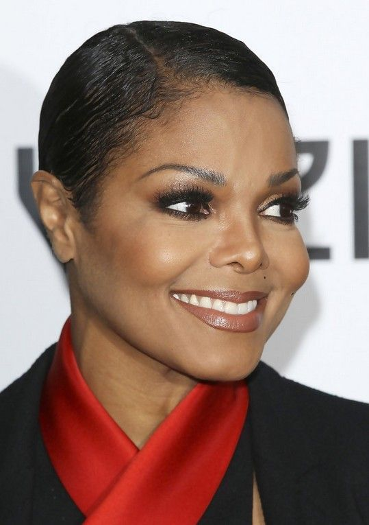 Janet Jackson Very Short Haircut For Black Women Cute Photos