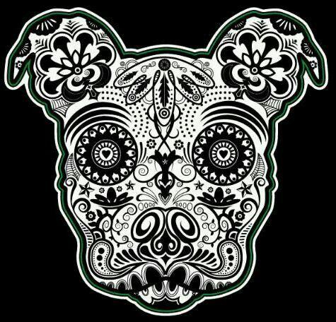 Animal sugar skull tattoo - photo#17