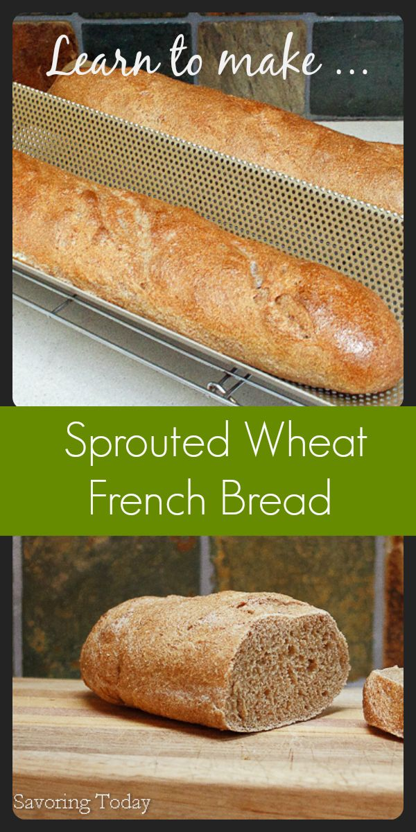 When we decided to eliminate white flour from our diet, a good French baguette was the one thing I missed most.This recipe will show you how to make healthier bread at home.