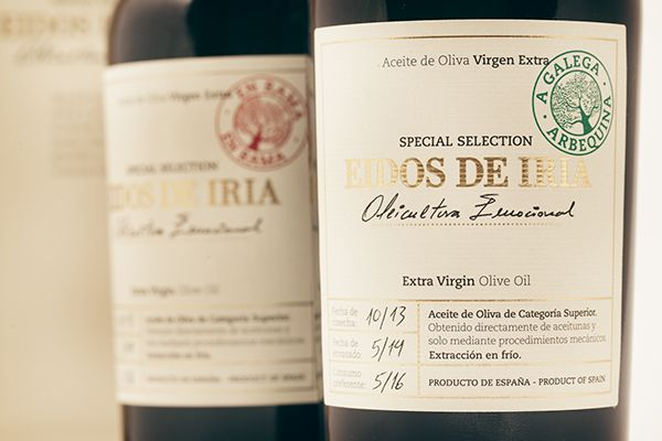 Eidos de Iria - Packaging by Vibra Agency, via Behance