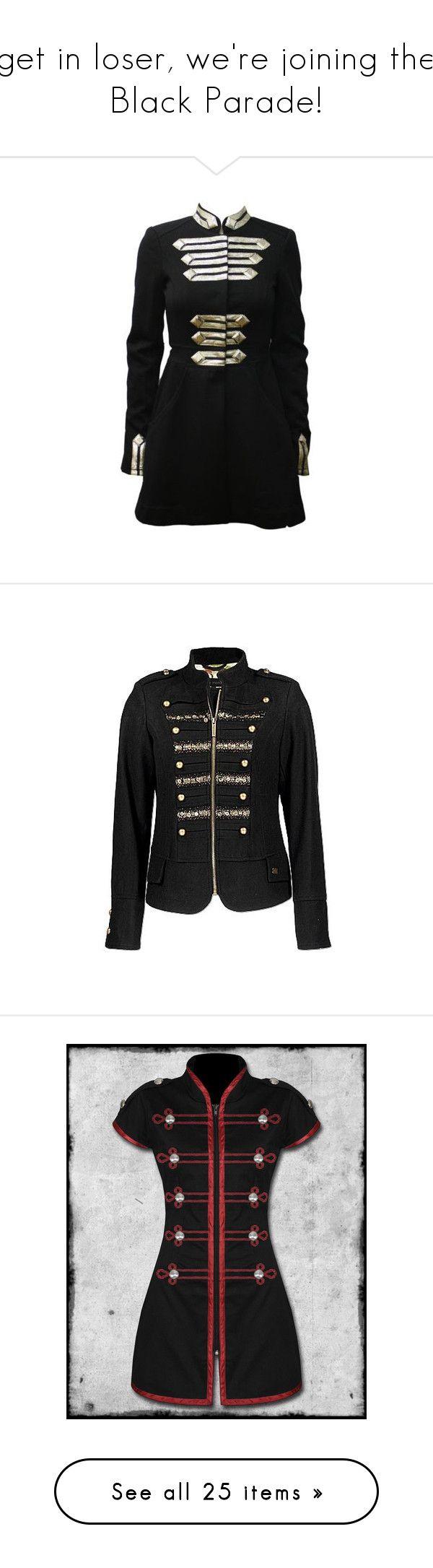 Jawbreaker black parade military jacket