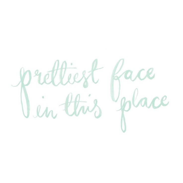#kgoletters: You're the gosh darn prettiest face in this place! A little hand lettering piece (and now a card!) I created for my beautiful girlfriends and inspired by young romance (you know those on first dates and such where you aren't saying love but you're crushing hard) . Tag a pretty face you know in the comments
