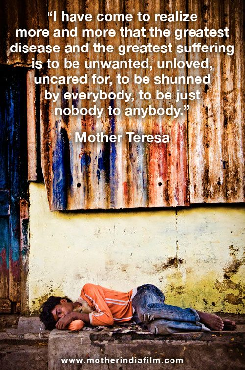 There are 31 million orphans in India. What are we going to do about it? http://www.motherindiafilm.com