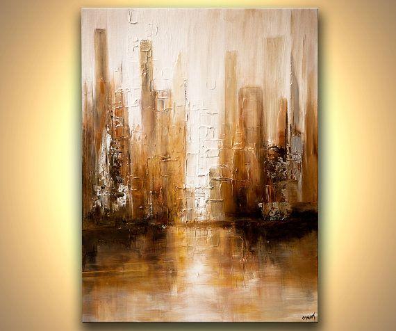 1000 ideas sobre pinturas de acr lico abstractas en - Pinturas acrilicas modernas ...