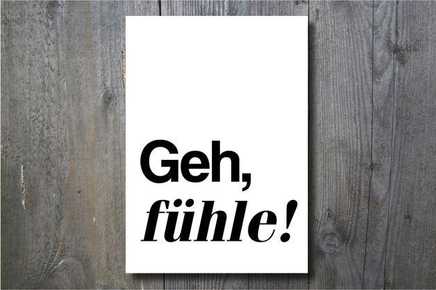 Die Gefühle fahren Achterbahn, Kunstdruck / art print for home decoration, feelings by Ohkimiko via DaWanda.com