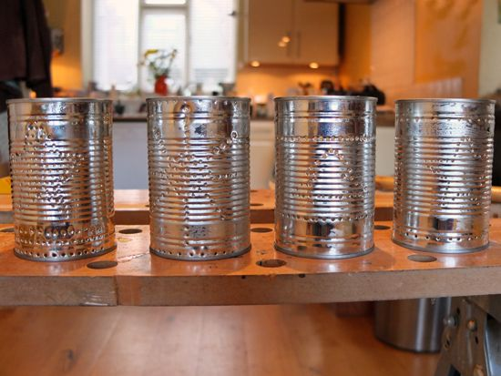 How to Make Tin Can Lanterns for Festive Friday - thinlyspread.co.uk