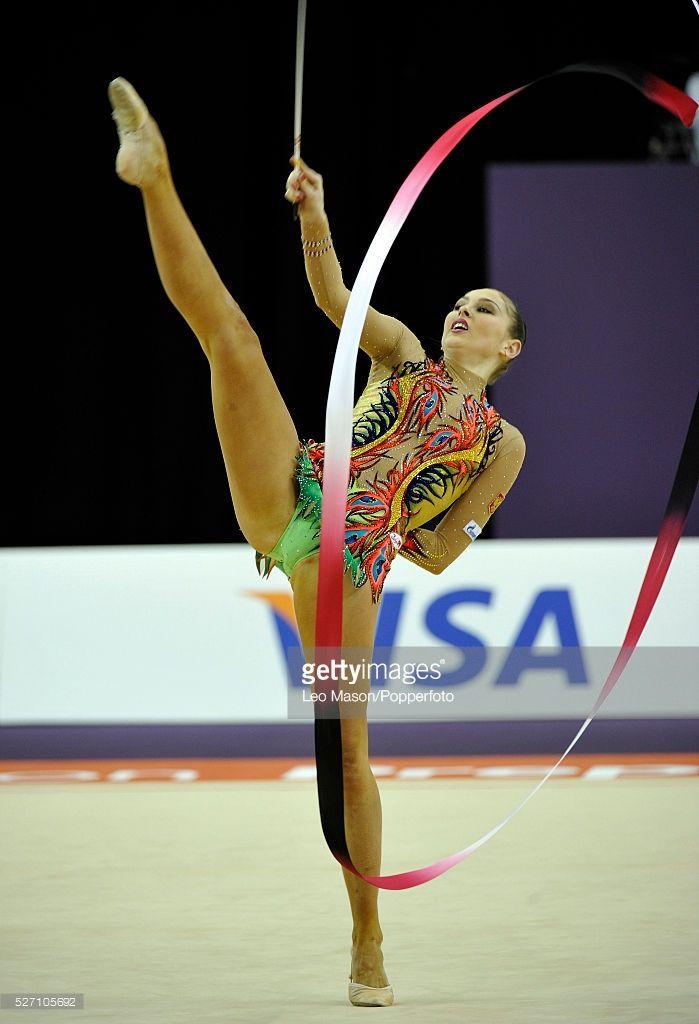 London Prepares Series Olympic Gymnastics Test Event North Greenwich Arena London UK Gymnastics Rhythmic Qualification Daria Kondakova RUS