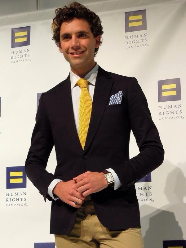 Mika at the 15th Annual Human Rights Campaign (HRC) National Dinner at the Washington Convention Center on October 1, 2011 in Washington, DC