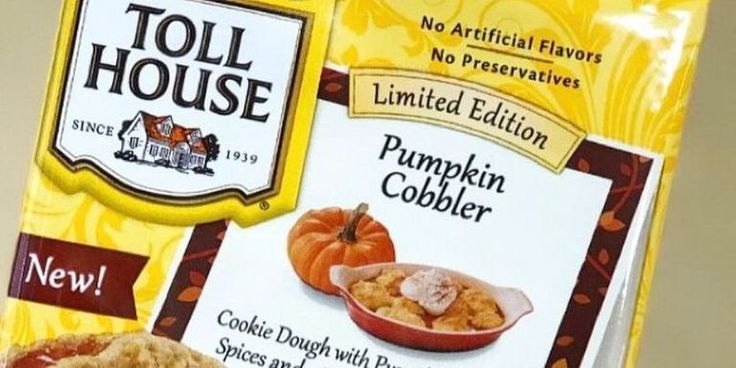 Toll House's New Cookie Dough Tastes Like Pumpkin Pie