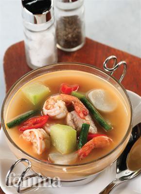 Sup Seafood Kuah Kacang Femina