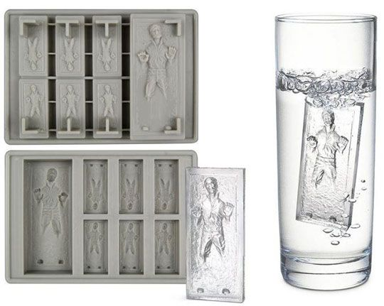 Han Solo ice cube...ohhh @Corye Gill, I believe I've found a present