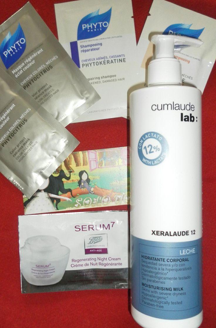 Xeralaude 12 Leche Hidratante Corporal 400 ml Cumlaude, mifarma, belleza, cosmética, soloyo blog, reseña