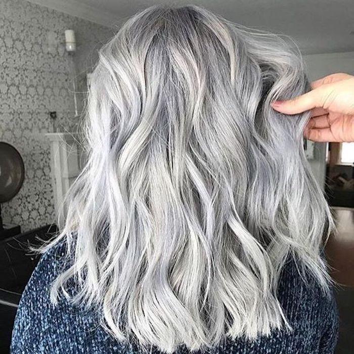 1001 Ideen Fur Silberblond Als Haarfarbe Die Ihnen