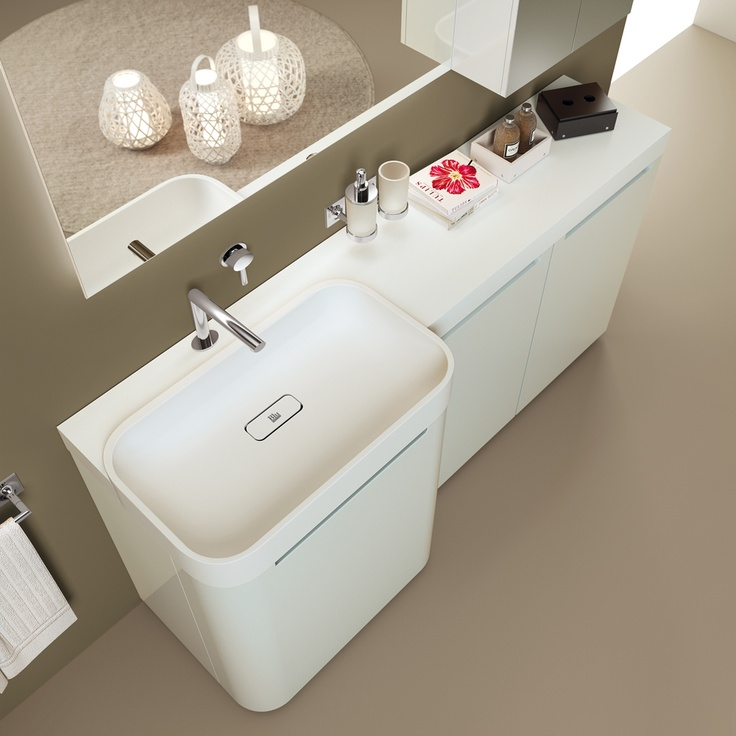 #kylpyhuone #scavolini #decorkylpyhuoneet #kylpyhuonekalusteet #sisustus  Idro kylpyhuonekaluste Scavolini Idro Collection by Scavolini. Something is changing in the #bathroom world. The #bathroom according to Scavolini.