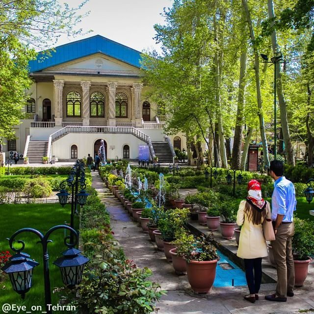 Ferdows Garden, A Historic Persian Garden in Tehran