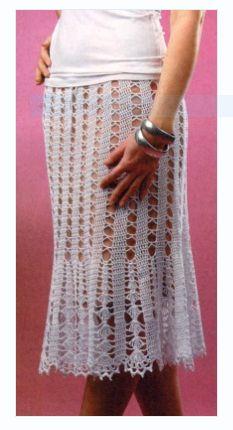 Юбка - запись пользователя Natali (Наталья) в сообществе Вязание крючком в категории Женская одежда крючком. Схемы и описание