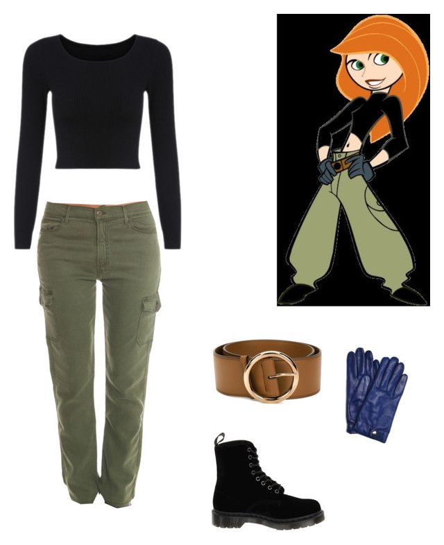 """Kim Possible"" by sunflowers-and-daisies ❤ liked on Polyvore featuring STELLA McCARTNEY, Dr. Martens, Wyatt and Mother"