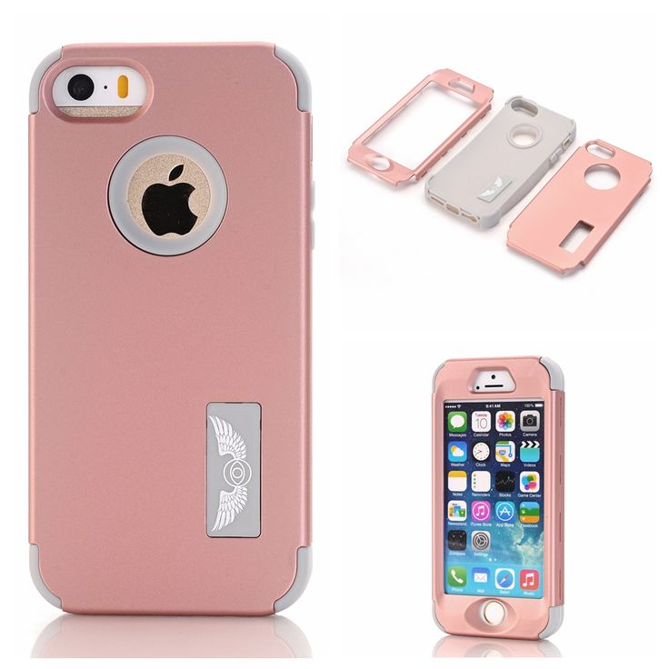 Case for coque iphone I6 PLUS 6GPLUS  6SPLUS 5.5 inch coque silicone,3-in-1 fashion cover cases for Apple iPhone mobile phone LS