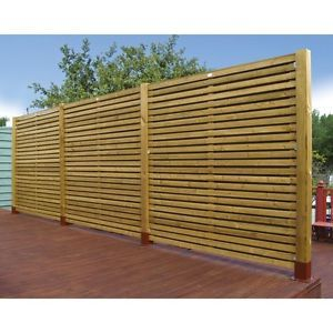 GARDEN FENCING Wooden Contemporary 6ft Fence Panel 1.79m 6ft ~OFFER~ 4 or more