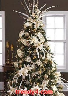Snowflakes and Snowmen Christmas Tree, 2014.