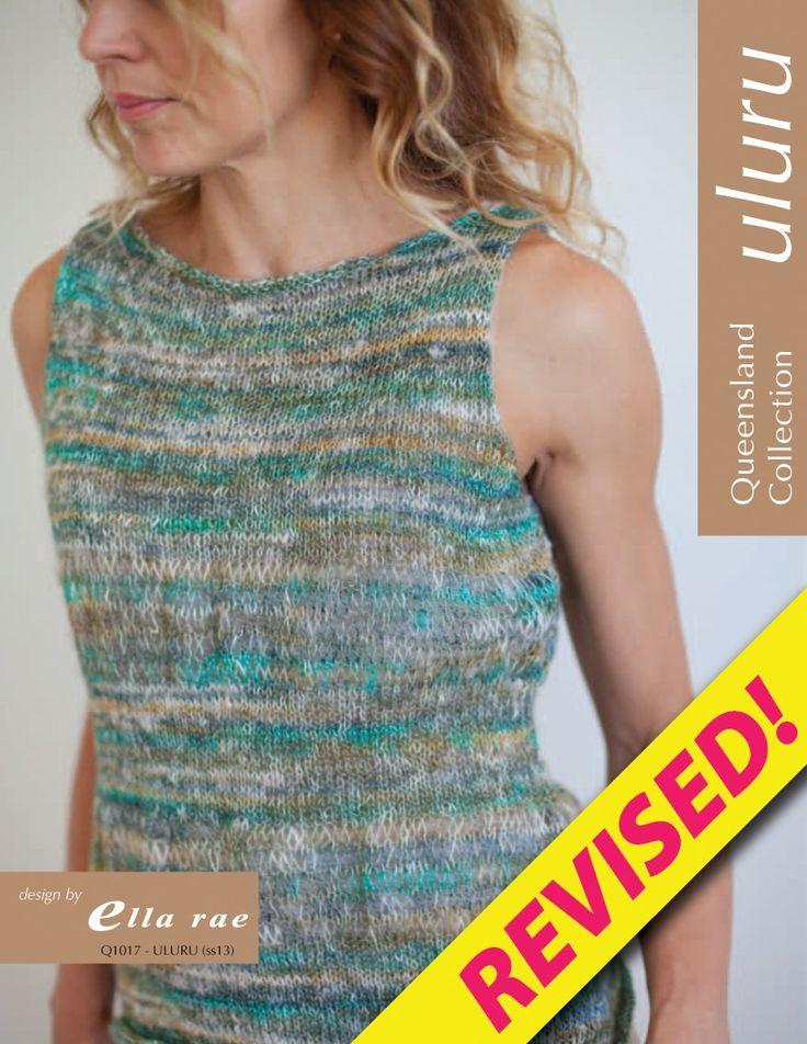 Knitting Fever Patterns : Uluru top q knitting fever yarns euro