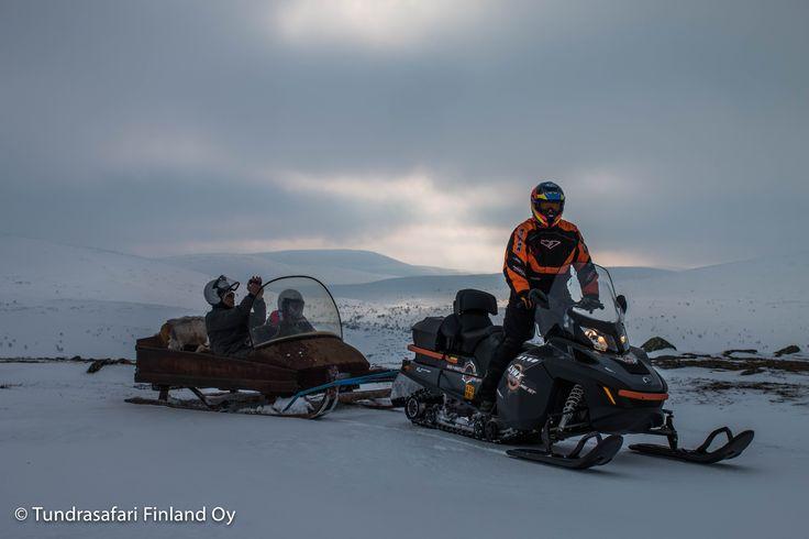 #arctic #experience #wilderness #fell #utsjoki #finland #lapland #snowmobile #photosafari