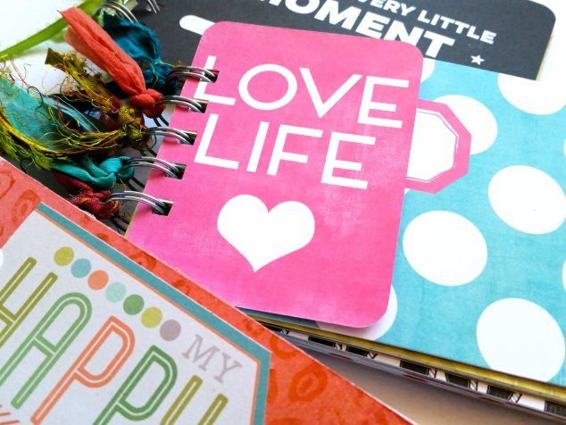 project life 3 ring albums.