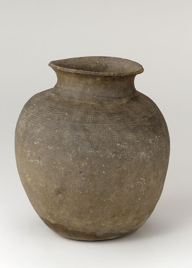 Baekje kingdom, Three Kingdoms period, second half of 4th century Korea Unglazed stoneware 30.0 x 27.3 cm Gift of Richard L. Mellott, in honor of Louise Cort Freer Gallery of Art