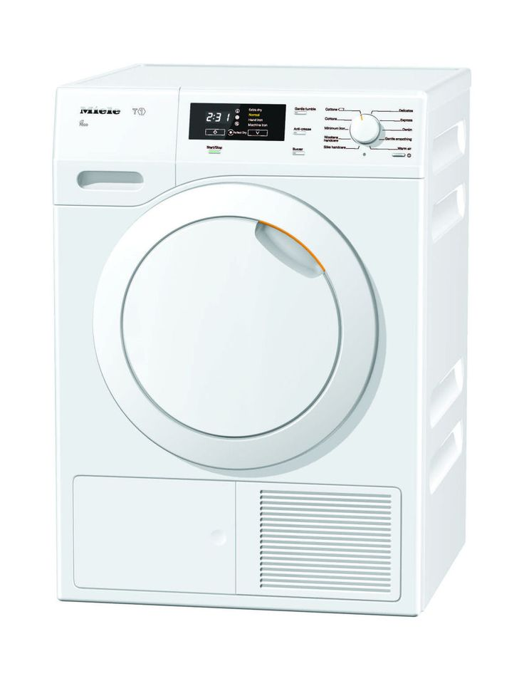 TKB 350 WP 8kg Tumble Dryer, T1 Heat-pump 8kg tumble dryer with PerfectDry and FragranceDos for precision drying and fresh fragrance. Includes 10 drying programmes, Delay start and 7 star energy efficiency rating. Matches WKB 130.