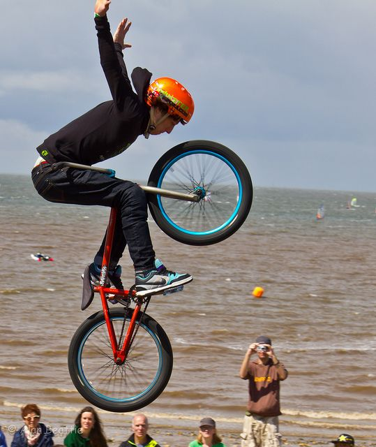 ♂ Man and bike Bmx Riders by Alan B Beattie