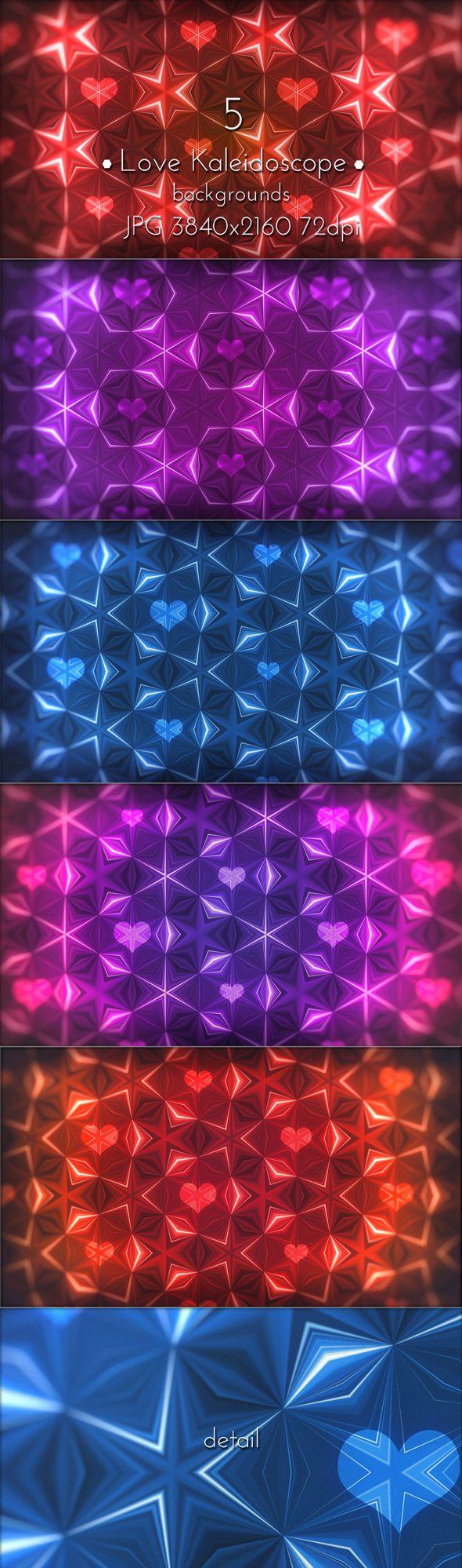 Love Kaleidoscope Patterns UltraHD backgrounds. #love #kaleidoscope #patterns #valentines #backdrops