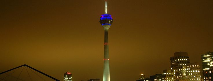 Das Areal rund um den Düsseldorfer Rheinturm wird zum Wohngebiet