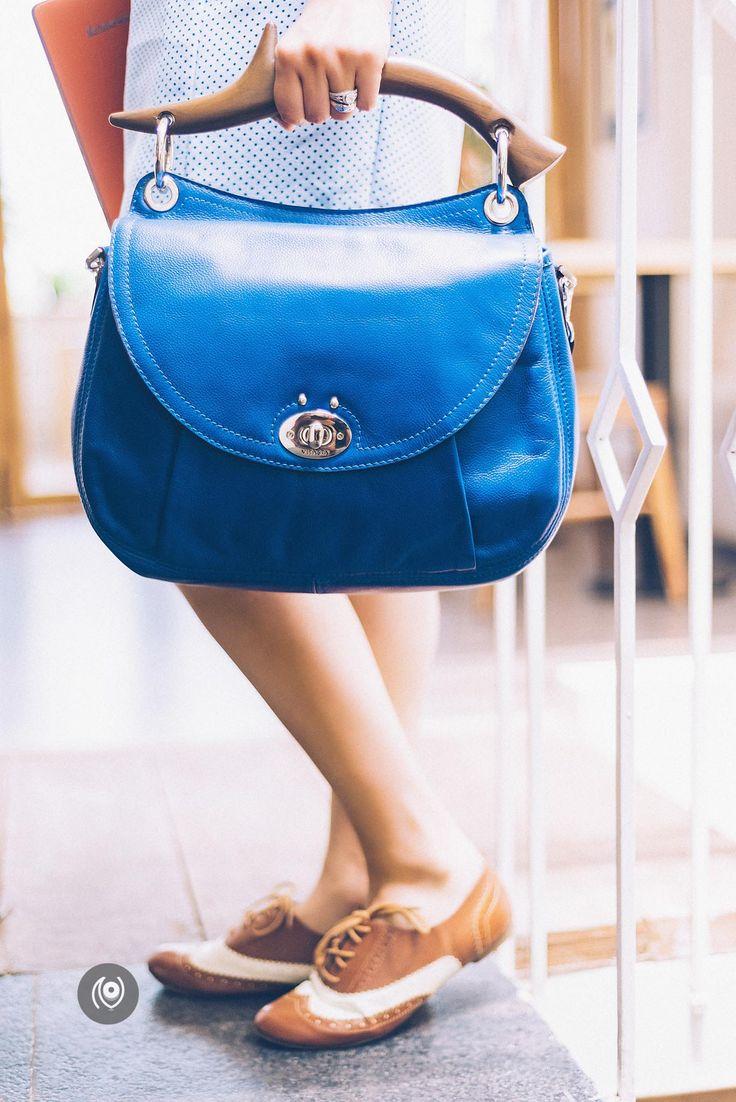 The teakwood antler bag by Aditi Vitasta Dhar is fairly large! Love the blue too. http://www.naina.co/photography/2015/07/coverup-46-van-heusen-vitastas-antler-bag-perch-delhi/?utm_content=bufferf89d9&utm_medium=social&utm_source=pinterest.com&utm_campaign=buffer #CoverUp 46