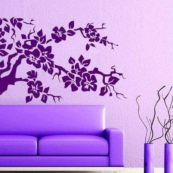 Hey, I found this really awesome Etsy listing at https://www.etsy.com/listing/235745848/wall-decals-tree-branch-flowers-decal