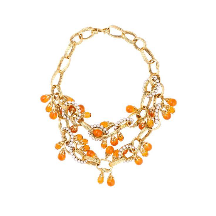 Balenciaga Shape Pampille Necklace - Femme's Bijoux - Balenciaga