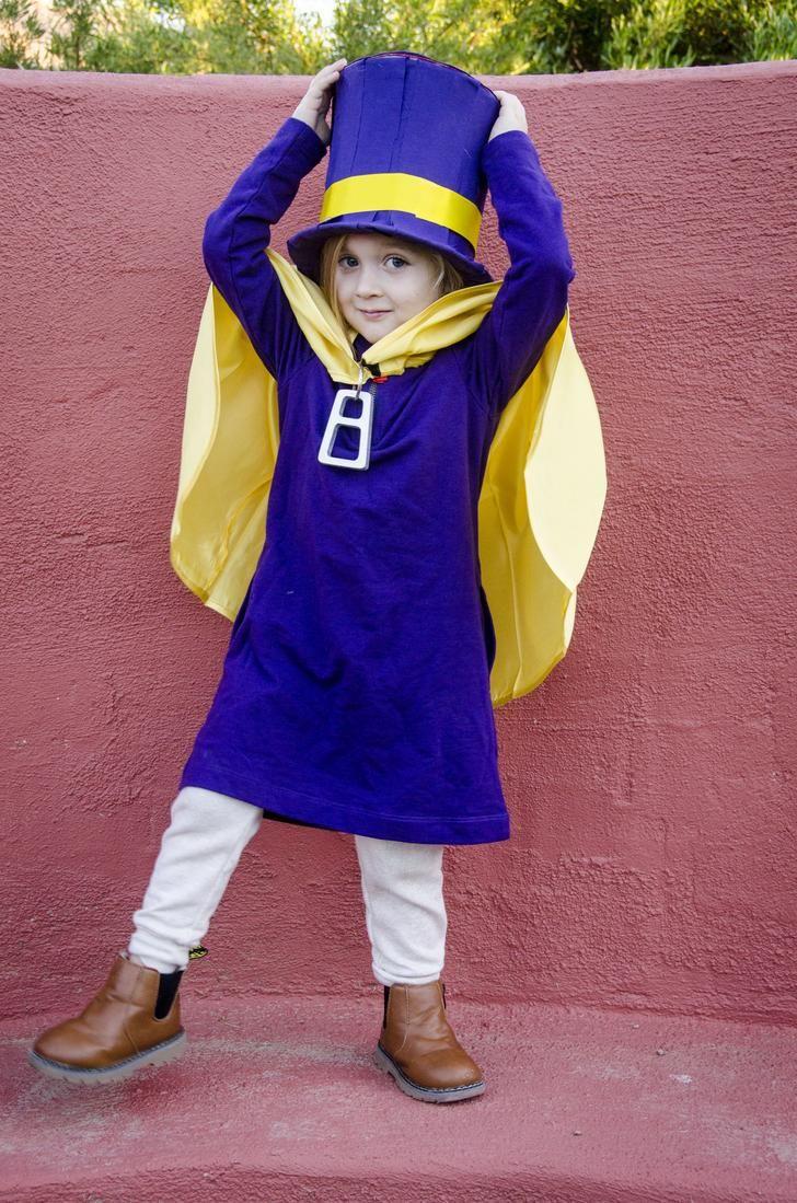 My 3 Year Old S Hat Kid Halloween Costume Halloween Costumes For Kids Hat Kid Costumes