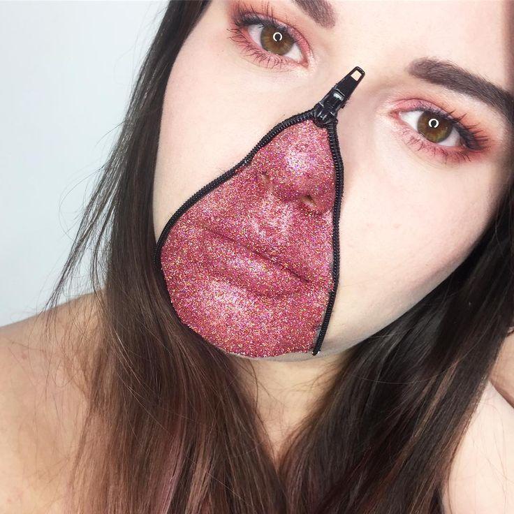 Best 25+ Zipper face ideas on Pinterest | Zipper face makeup ...