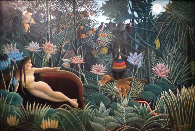 Henri Julien Félix Rousseau, dit Le Douanier Rousseau, Le Rêve, 1910, huile sur toile,