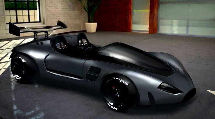 car version of a cafe racer