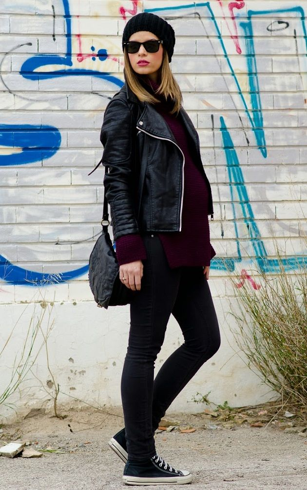 Inspiration & Shopping: Maternity Style in Winter