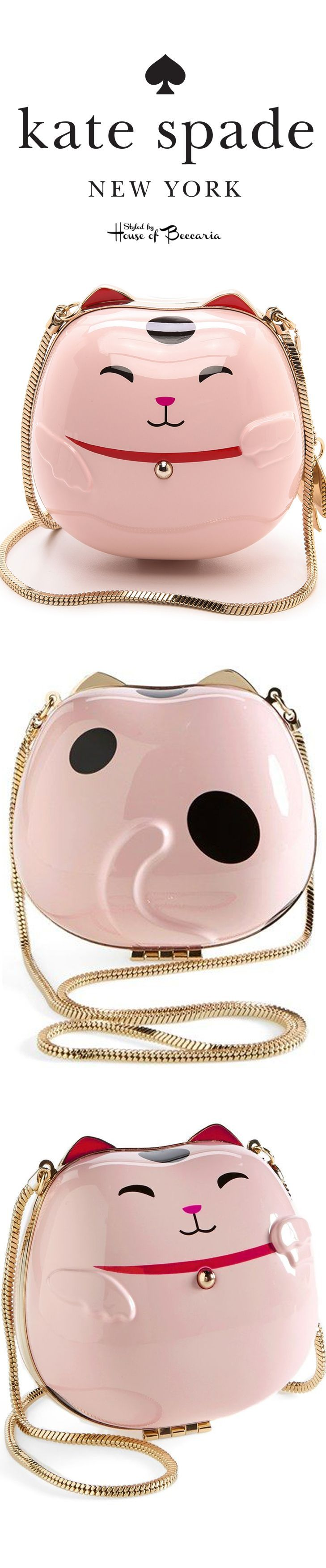 ~Kate Spade 'Hello Tokyo' Lucky Cat Clutch | House of Beccaria