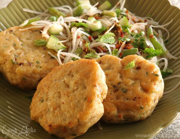 Рыбные биточки по-тайски | Официальный сайт кулинарных рецептов Юлии Высоцкой