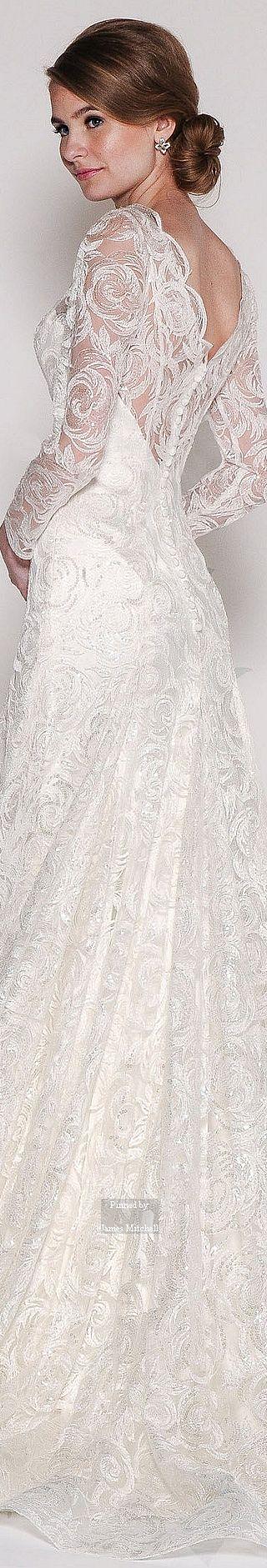 81 best 2016 Bridal Gowns images on Pinterest   Wedding dressses ...