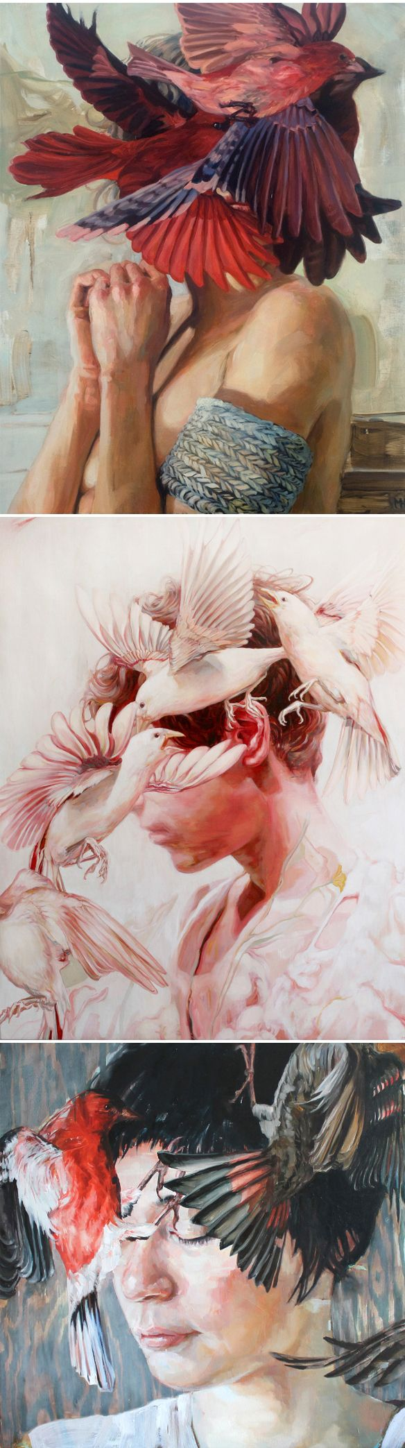paintings by meghan howland #abcLoveList