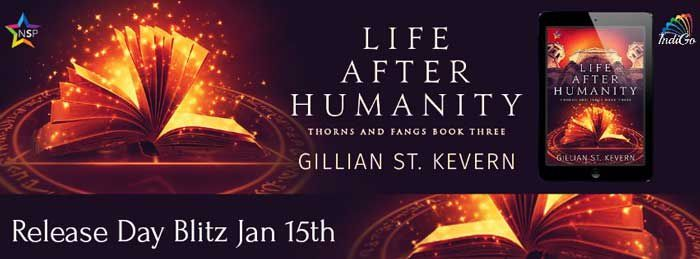 Life After Humanity by Gillian St. Kevern Release Blitz