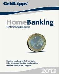 Geldtipps: Homebanking 2013