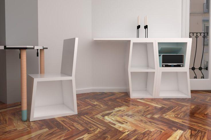 Jigsaw Puzzle Furniture!   Yanko Design