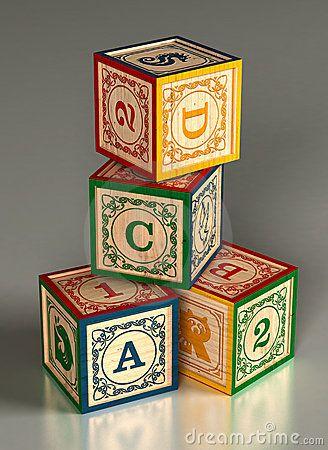 alfabet blokken