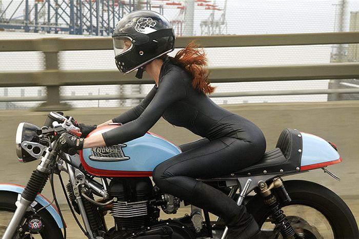 Custom Triumph Thruxton by BA Moto                                                                                                                                                                                 More
