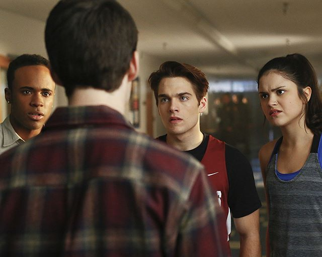 Teen Wolf - Season 6 new still - @MTVteenwolf: Does he even go here?  #TeenWolfTuesdays
